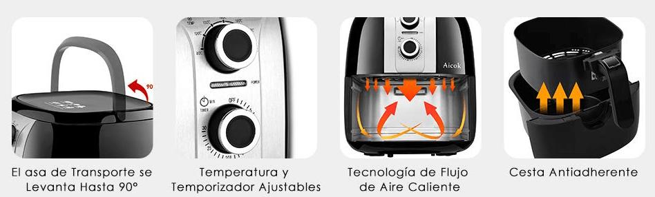 características tecnicas aicok 3.5