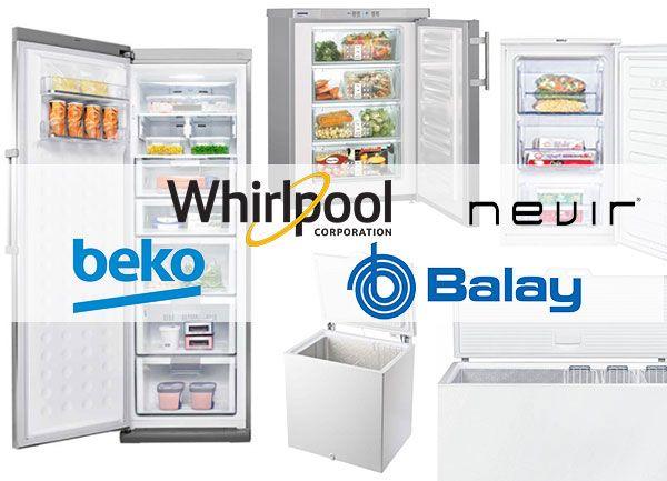 marcas comerciales de congeladores