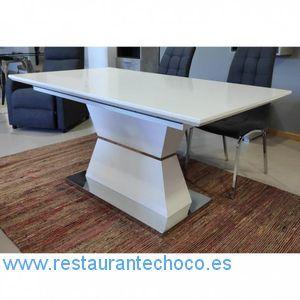 comprar mesas de comedor madera extensible